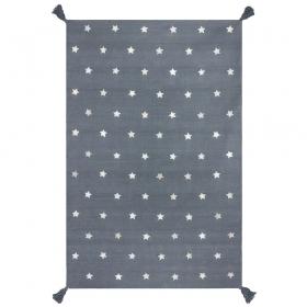 tapis gris enfant etoiles art for kids