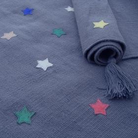 tapis multicolore enfant etoiles art for kids