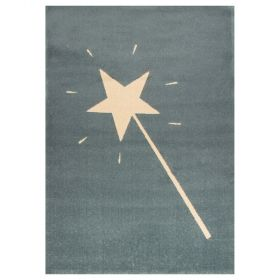 tapis enfant magic wand bleu art for kids