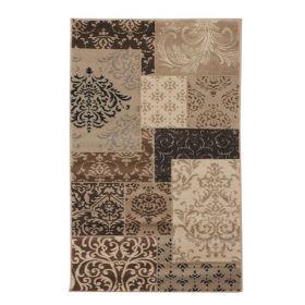 tapis patchwork flair rugs beige artisan