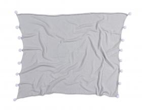 couverture bébé bubbly soft light grey - lorena canals