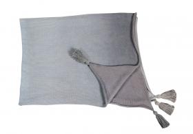 couverture bébé ombré grey - lorena canals