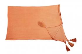 couverture bébé ombré terracota - lorena canals