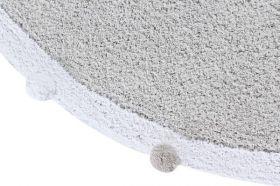 tapis bébé bubbly soft - gris clair - lorena canals