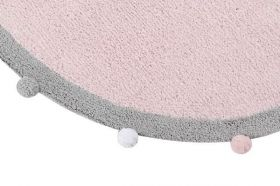 tapis bébé bubbly soft - rose - lorena canals