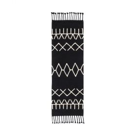 tapis de couloir lorenal canals bereber black