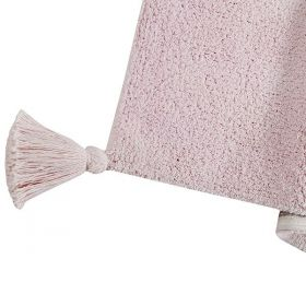 tapis enfant degrade vanille rose lorenal canals
