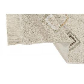tapis lavable cotton kaarol earth m