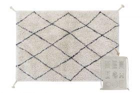 tapis lavable mini bereber