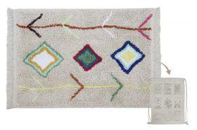 mini tapis lavable cotton kaarol - lorena canals