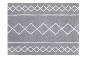 tapis lavable oasis naturel - gris