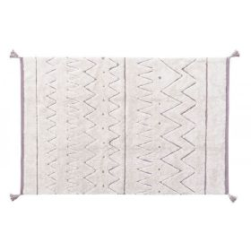 tapis lavable cotton rugcycled azteca m