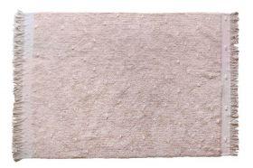 tapis lavable woods symphony lin et gris perle m