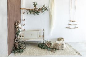 tapis lavable woods symphony olive m
