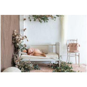 tapis lavable woods symphony rose naturel m