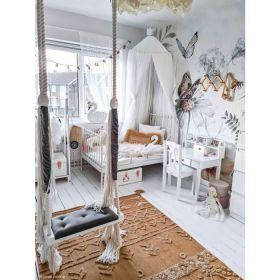 tapis lavable tribu couleur miel s - 120 x 160