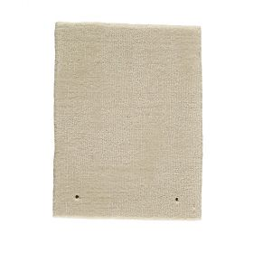 tapis moderne clip blanc - angelo