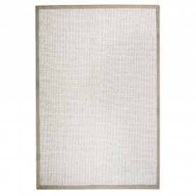 tapis tissé main chapel beige the rug republic