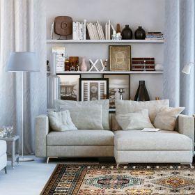 tapis multicolore moderne majorelle wecon