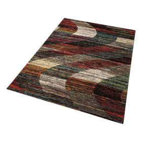 tapis wecon moderne arabian sands multicolore