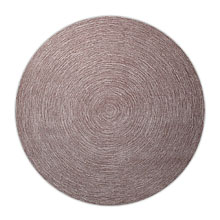 tapis rond moderne taupe esprit home colour in motion