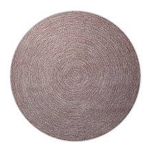 tapis moderne rond colour in motion taupe esprit home