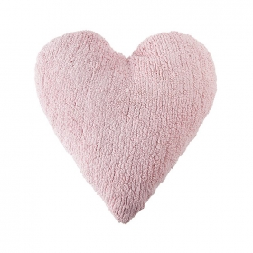 coussin enfant heart rose lorena canals