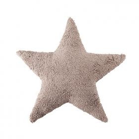 coussin enfant stars marron lorena canals