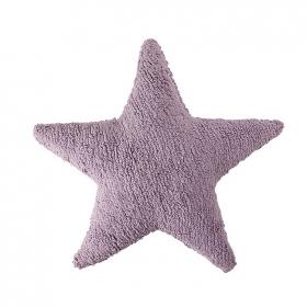 coussin enfant stars mauve lorena canals