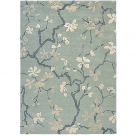 tapis anthea china blue sanderson - avalnico