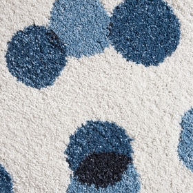 tapis paint cloud bleu edito paris