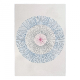tapis pissenlit bleu edito paris