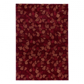 tapis flying leaves rouge edito paris