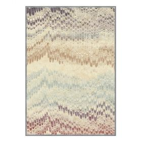 tapis moderne peacok multicolore edito paris