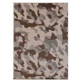 tapis moderne beige camo flair rugs
