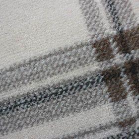 tapis moderne crème check flair rugs