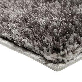 tapis shaggy spa argenté esprit