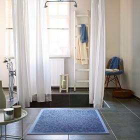 tapis de bain caldera esprit home bleu