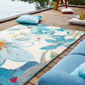 tapis esprit home water lily