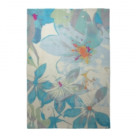 tapis moderne water lily esprit home