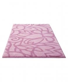 tapis de bain rose esprit home flower shower