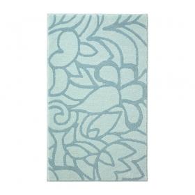 tapis de bain turquoise esprit home flower shower