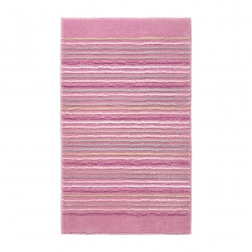 tapis de bain rose esprit home cool stripes