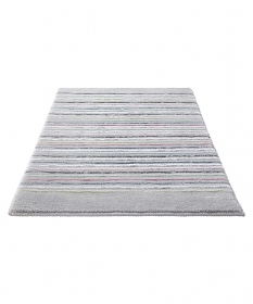 tapis de bain gris esprit home cool stripes