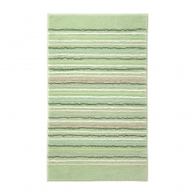 tapis de bain vert cool stripes esprit home