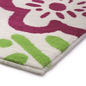 tapis de bain cool flower multicolore esprit