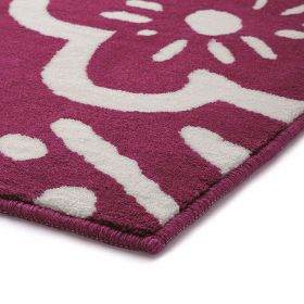 tapis de bain cool flower rose esprit