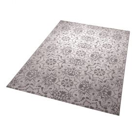 tapis moderne mysteria blanc