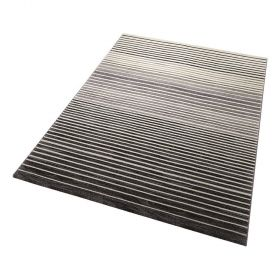tapis moderne nifty stripes gris