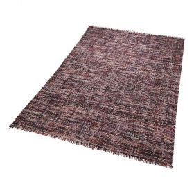 tapis moderne purl violet